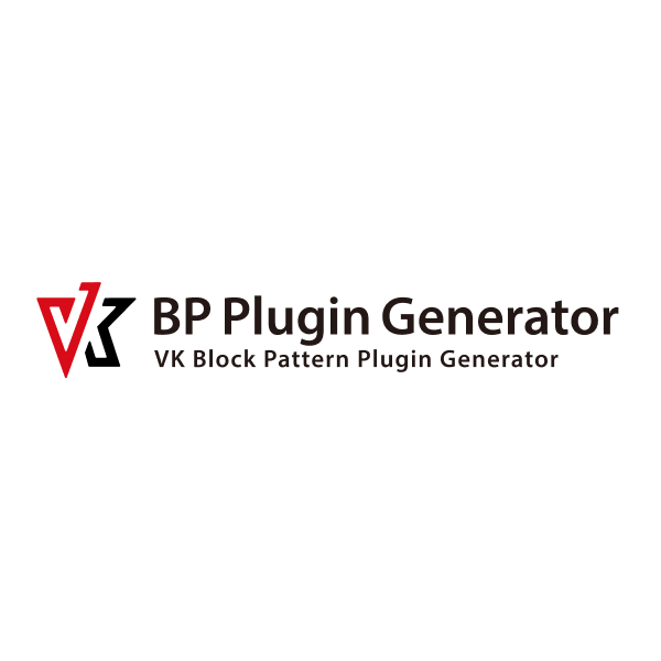 VK Block Pattern Plugin Generator